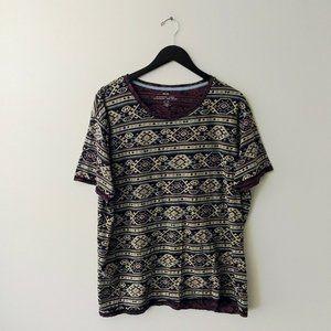 BDG Striped T Shirt Trendy Stylish Cotton Short XL